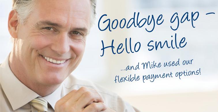 Goodbye Gap, Hello Smile
